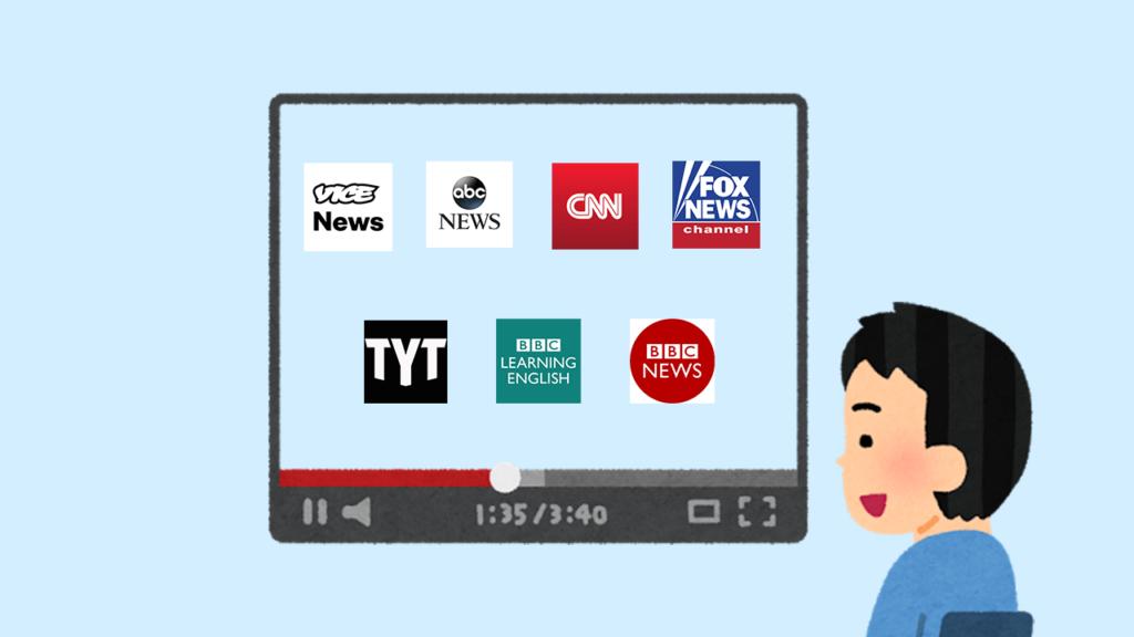 英語学習に海外の動画ニュースサイトを活用しよう【オススメ7選】