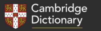 ケンブリッジ英英辞典 Cambridge Dictionary