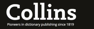 コウビルド英英辞典 Collins dictionary