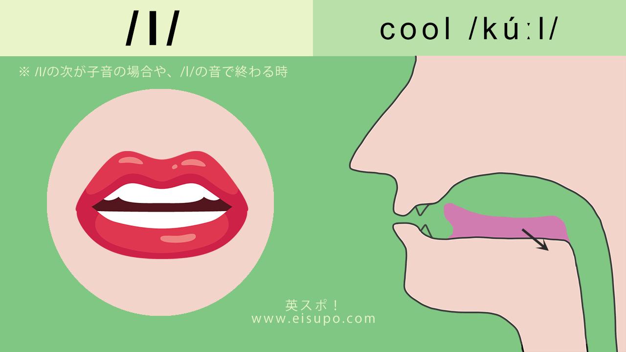英語の発音方法:ダーク/l/ の正しい発音の仕方